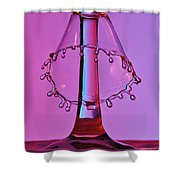 Water Drop Collision 10 Shower Curtain