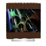 Water Droplets 1 Shower Curtain