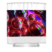 Water Droplets 3 Shower Curtain