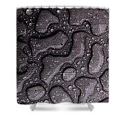 Water Puzzle Shower Curtain