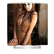 Water Fall Beauty Shower Curtain