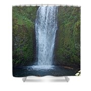 Water Fall Shower Curtain