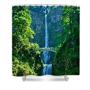 Water Falla Shower Curtain