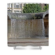Water Feature - Derby Shower Curtain