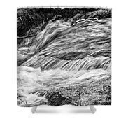 Water Flow Shower Curtain