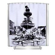 Water Fountain Shower Curtain