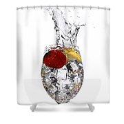 Water Glass2 Shower Curtain