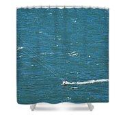Water Glider Shower Curtain