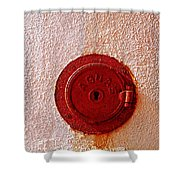 Water Hole 2 Shower Curtain