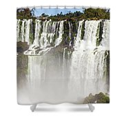 Water Jumps Shower Curtain