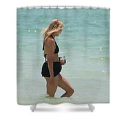 Water Lady Shower Curtain