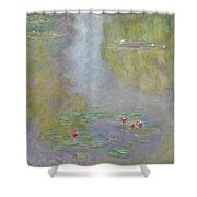 Water Lilies 1908 Shower Curtain