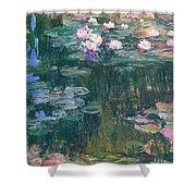 Water Lilies 1917 4 Shower Curtain