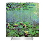 Water Lilies 1917 6 Shower Curtain