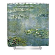 Water Lilies 21 Shower Curtain