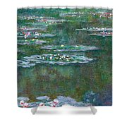 Water Lilies 5 Shower Curtain