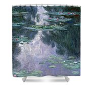Water Lilies, Nympheas, 1907 Shower Curtain