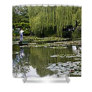 Water Lily Garden Of Monet In Giverny Shower Curtain