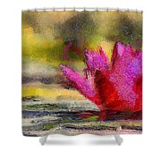Water Lily - Id 16235-220419-3506 Shower Curtain