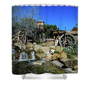 Water Mill - Old Tucson Arizona Shower Curtain