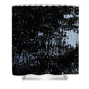 Water Mirror Shower Curtain