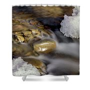 Water 'n Ice Shower Curtain