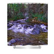 Water Never Tires Shower Curtain