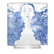 Water Nymph Lxxx Shower Curtain