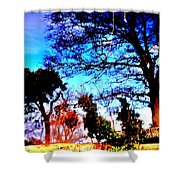 Water Of Leith At Chesser Shower Curtain
