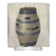 Water Or Wine Jug Shower Curtain