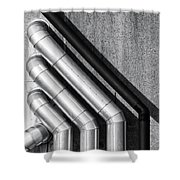 Water Pipes Shower Curtain