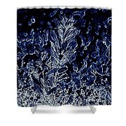 Water Plant Shower Curtain