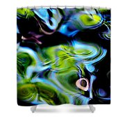 Water Reflection 1135 Shower Curtain