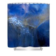 Water Reflections 0246v2 Shower Curtain