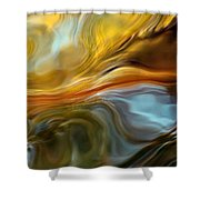 Water Reflections 1064 Shower Curtain