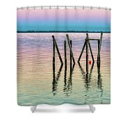 Water Reflections 2017 Shower Curtain