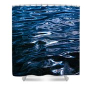 Water Ripples On Surface Shower Curtain