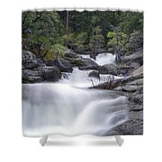 Water Running From The Woods Shower Curtain
