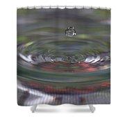 Water Sculpture Green Series 2 Shower Curtain