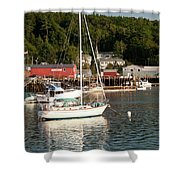 Water Song 1459 Shower Curtain