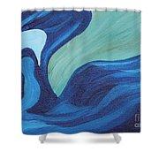Water Spirit Shower Curtain
