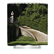 Water Staircase Shower Curtain