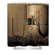 Water Tank Shower Curtain