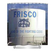 Water Tank With The Coons Shower Curtain