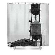 Water Tanks Shower Curtain