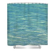 Water Texture Shower Curtain