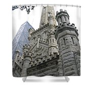 Water Tower And Sears Tower Shower Curtain