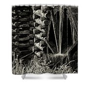 Water Wheel 3 Shower Curtain