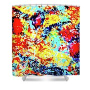 Water Whimsy 180 Shower Curtain