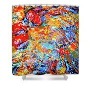 Water Whimsy 183 Shower Curtain